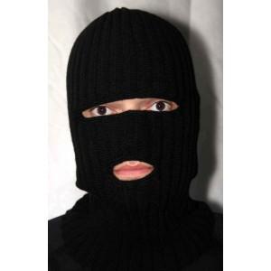 Шапка маска черная