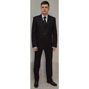 Костюм классический мужской черный