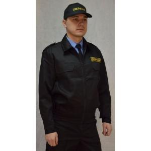 """Костюм охранника  """"Стражник"""" черный (тк. Грета Китай)"""