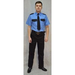 Рубашка форменная охранника (короткий рукав)
