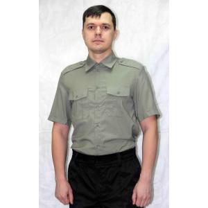Рубашка форменная охранника олива (короткий рукав)