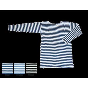 Тельняшка с длинным рукавом, синяя полоса